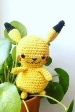 Pikachu - pikapiCAL - free pattern from Lalylala