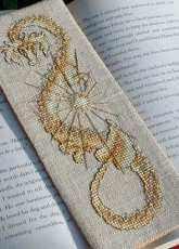 TW Designworks Teresa Wentzler - Sun Dragon Bookmark