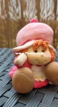 Strawberry shortcake clay
