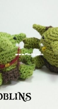 Club Crochet - Louis Mensinger - Hobgoblin - English