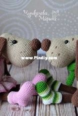 My Crochet Wonders - Marina Chuchkalova - The Little dog Filya
