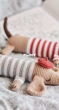 Firefly Crochets - Olga Mareeva - Dachshund Dog
